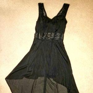 NWOT Goth Style Hi-Low Dress